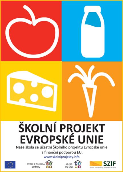 Internetový portál bezpečnosti potravin - Školní projekt Ovoce, zelenina a mléko  do škol